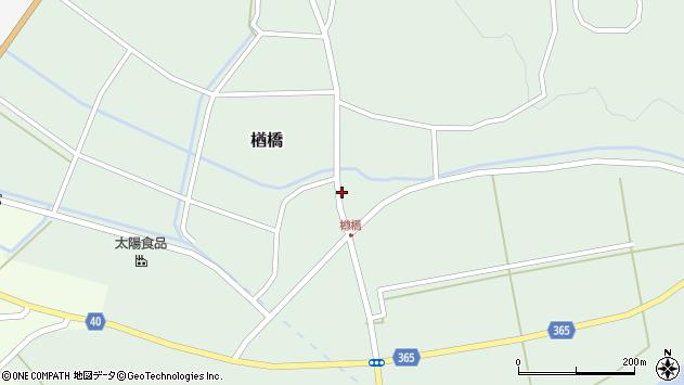 山形県酒田市楢橋荒町24周辺の地図