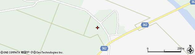 山形県酒田市上北目谷地田34周辺の地図