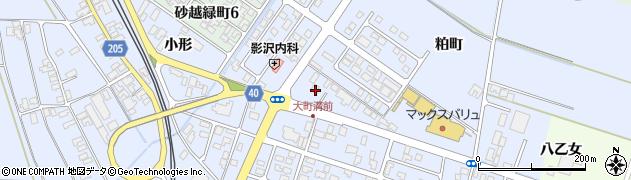 山形県酒田市砂越粕町95周辺の地図