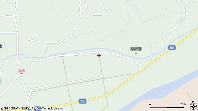 山形県酒田市楢橋上川原205周辺の地図