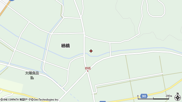 山形県酒田市楢橋大柳99周辺の地図