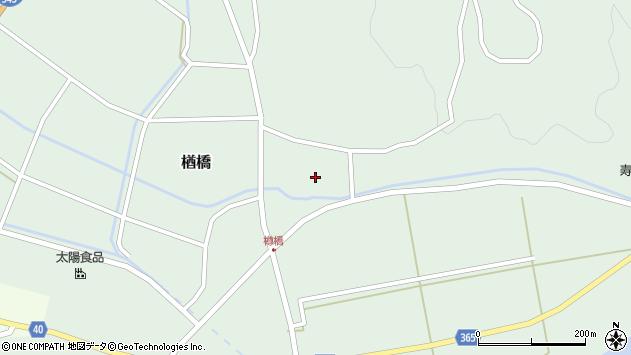山形県酒田市楢橋大柳83周辺の地図