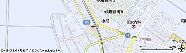 山形県酒田市砂越小形133周辺の地図