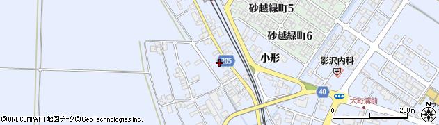 山形県酒田市砂越上川原210周辺の地図