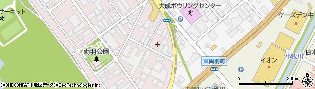 山形県酒田市両羽町281周辺の地図