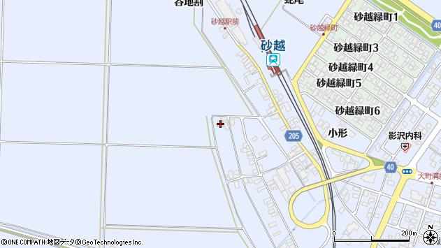 山形県酒田市砂越上川原339周辺の地図