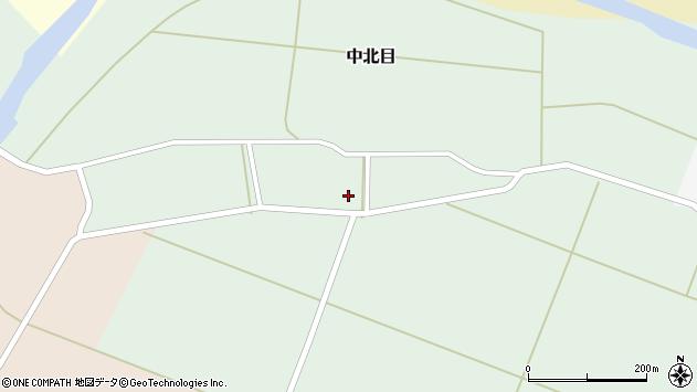 山形県酒田市中北目村立65周辺の地図
