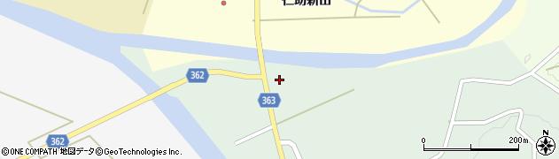山形県酒田市田沢赤田淵2周辺の地図