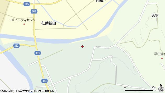 山形県酒田市田沢長根265周辺の地図