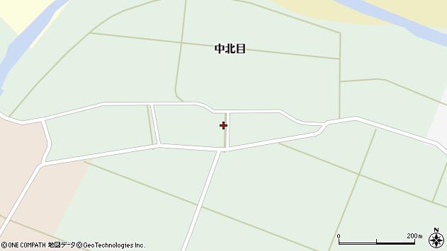 山形県酒田市中北目村立55周辺の地図