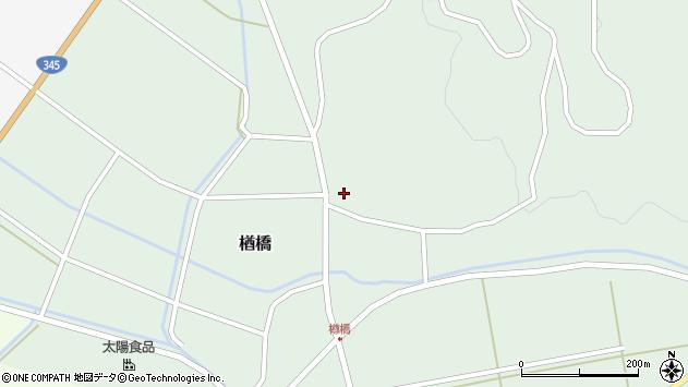 山形県酒田市楢橋大柳110周辺の地図