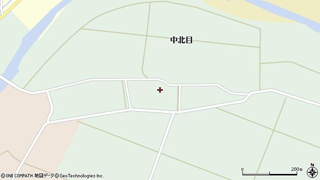 山形県酒田市中北目村立69周辺の地図