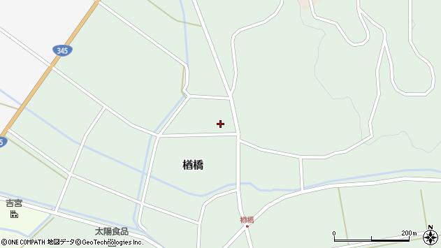 山形県酒田市楢橋大柳121周辺の地図