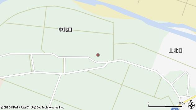 山形県酒田市中北目村立23周辺の地図