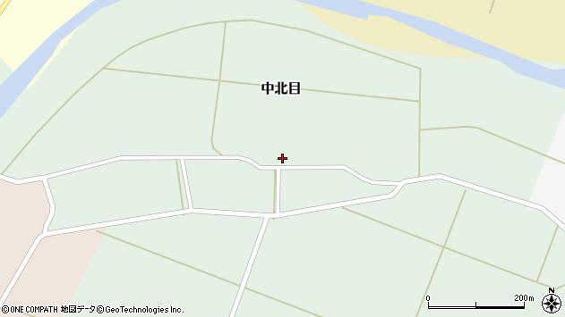 山形県酒田市中北目村立83周辺の地図