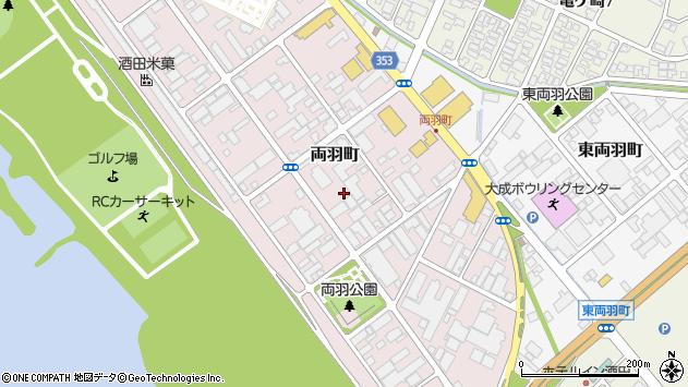 山形県酒田市両羽町9周辺の地図