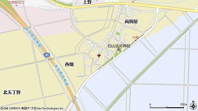 山形県酒田市小牧68周辺の地図