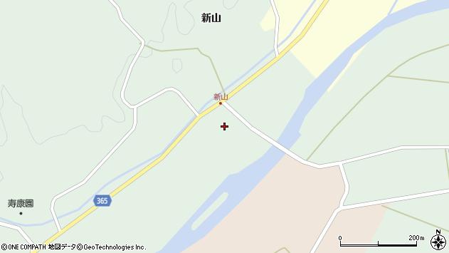 山形県酒田市楢橋新山前新田174周辺の地図