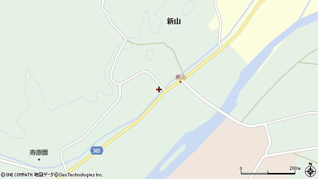 山形県酒田市楢橋新山21周辺の地図