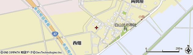 山形県酒田市小牧76周辺の地図