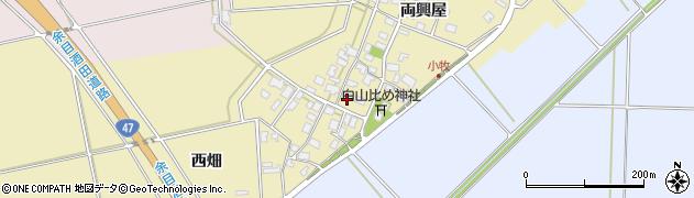 山形県酒田市小牧87周辺の地図
