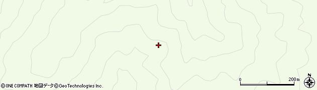 山形県酒田市中野俣深山周辺の地図