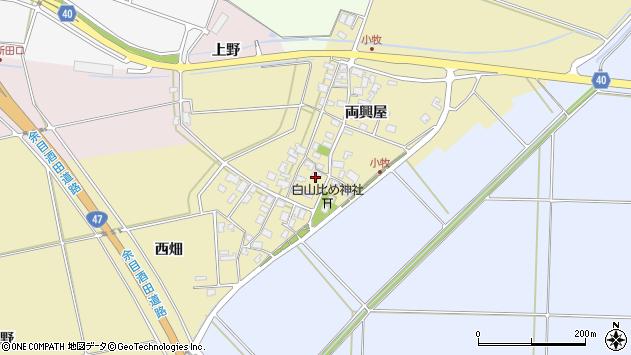 山形県酒田市小牧89周辺の地図