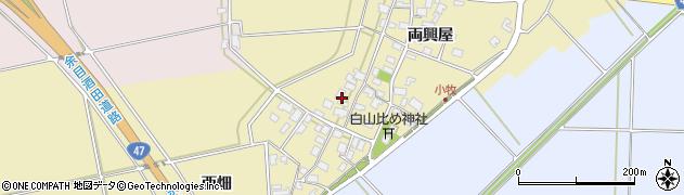 山形県酒田市小牧92周辺の地図