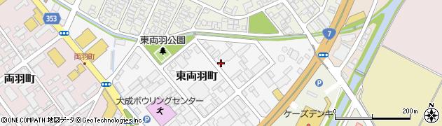 山形県酒田市東両羽町3周辺の地図