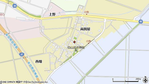 山形県酒田市小牧96周辺の地図