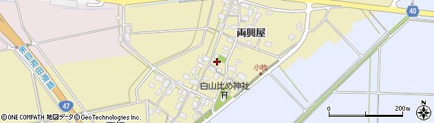 山形県酒田市小牧95周辺の地図