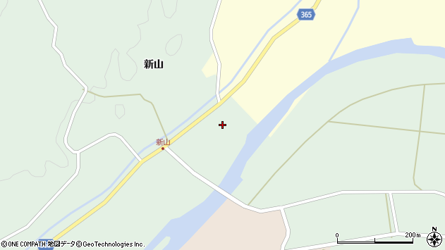 山形県酒田市楢橋新山前新田151周辺の地図
