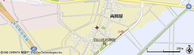 山形県酒田市小牧94周辺の地図