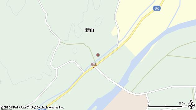 山形県酒田市楢橋新山35周辺の地図