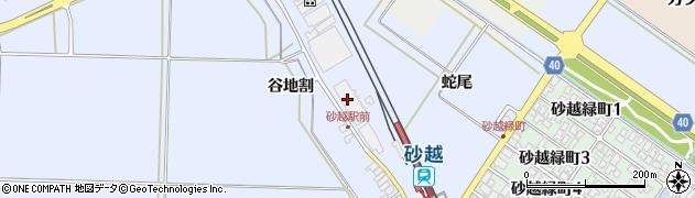 山形県酒田市砂越蛇尾88周辺の地図