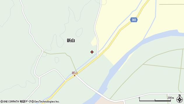 山形県酒田市楢橋新山3周辺の地図