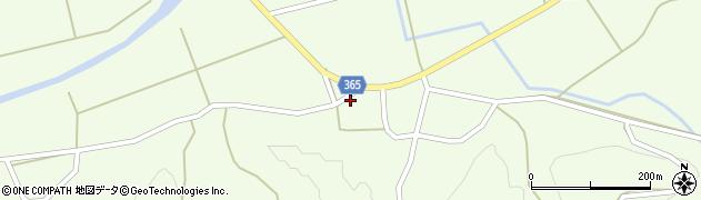 山形県酒田市中野俣笹下45周辺の地図
