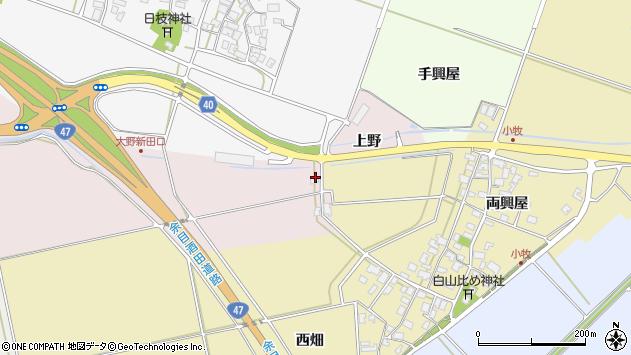 山形県酒田市大町大野143周辺の地図