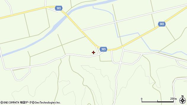 山形県酒田市中野俣笹下155周辺の地図