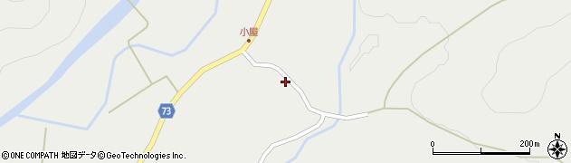 山形県最上郡金山町有屋681周辺の地図