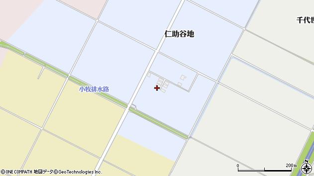 山形県酒田市仁助谷地212周辺の地図