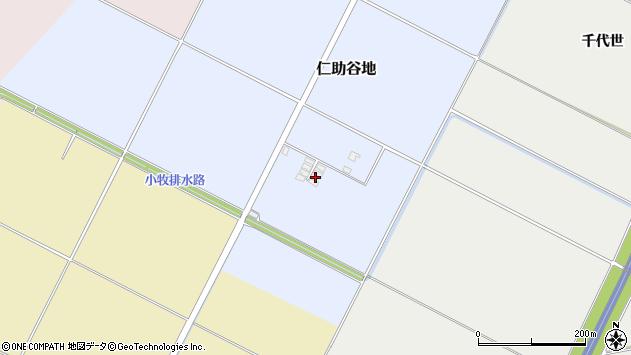 山形県酒田市仁助谷地214周辺の地図