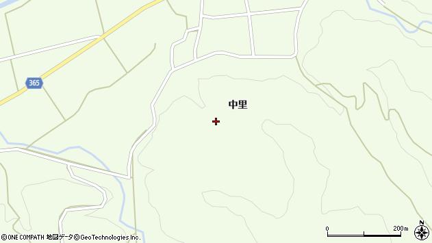 山形県酒田市中野俣丸山長根周辺の地図