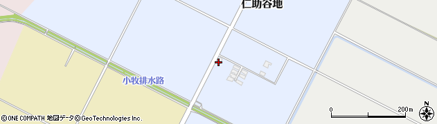 山形県酒田市仁助谷地501周辺の地図