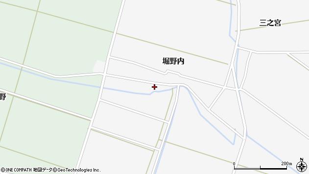 山形県酒田市堀野内31周辺の地図