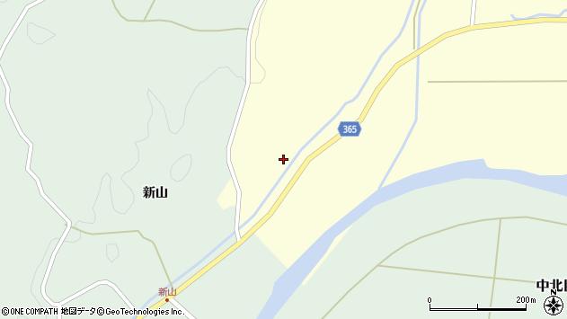 山形県酒田市山谷新田山海50周辺の地図