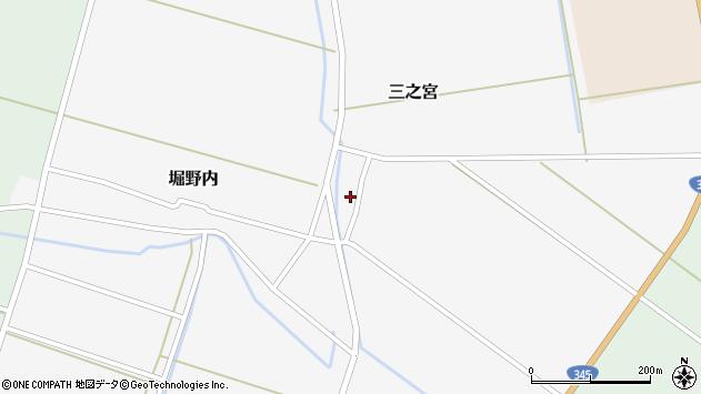 山形県酒田市三之宮35周辺の地図