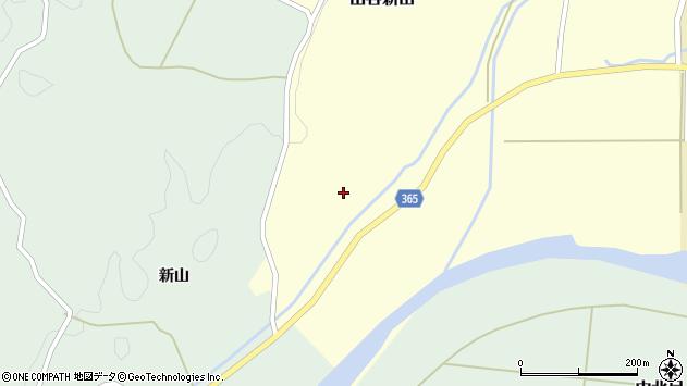 山形県酒田市山谷新田山海69周辺の地図
