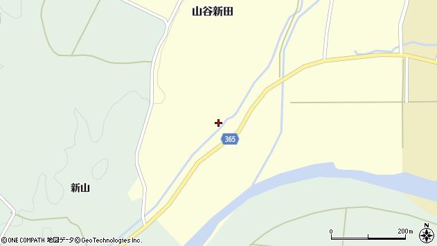 山形県酒田市山谷新田山海175周辺の地図