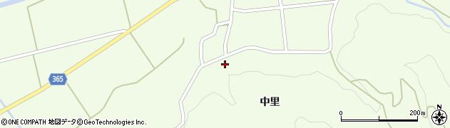 山形県酒田市中野俣中里67周辺の地図